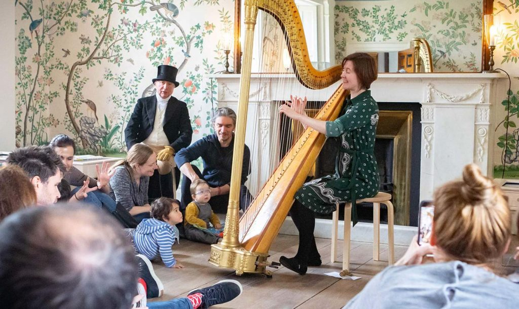 Harp recital in Pitzhanger Manor